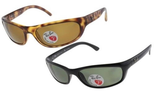 a307cd78505 ... Ray-Ban Men s Predator Sunglasses with Polarized Lenses - Black ...