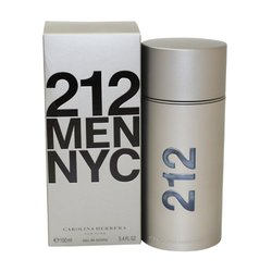 212 by Carolina Herrera for Men 3.4 oz Eau de Toilette Spray