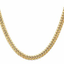 Signature Men's Collection 14k 6.75mm Semi Solid Necklace -  Signature Mens Collection