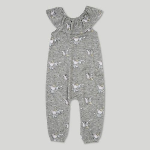 05d28a9a3 Toddler Girls' Dumbo Sleeveless Romper - Heather Grey 5T - Check ...