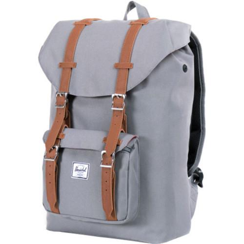 fd0929b4789 Herschel Supply Co. Classic Little America Backpack - Grey/Tan - Check Back  Soon - BLINQ