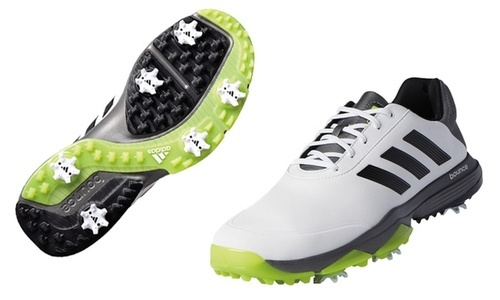 outlet store 4fb4f 21462 ... Adidas Mens adiPower Bounce Golf Shoes - White-Black-Green - Size ...