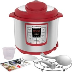 Instant Pot Lux 1000W Electric Pressure Cooker with Accessories - Red