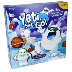 PlayMonster Yeti Go 4Pc Snowy Meatball Mountain