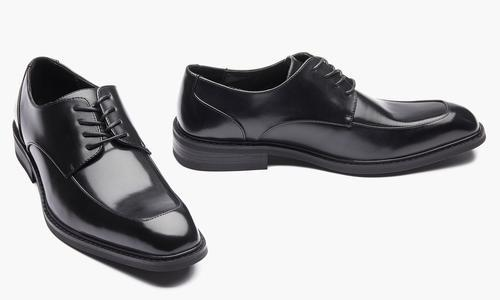 Kenneth Cole Mens Oxford Dress Shoes Black Size 8 Blinq