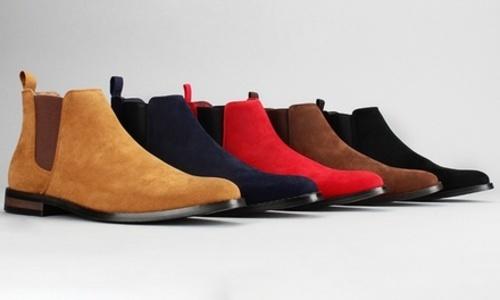 Classic Scott Suede Chelsea Boots