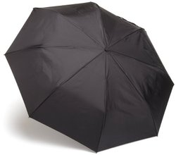 Totes Auto Open Auto Close Compact Umbrella - Black