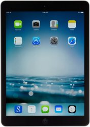 """Apple iPad Air 9.7"""" Tablet 32GB WI-Fi + Verizon - Space Gray (MF004LL/A)"""