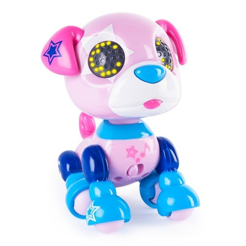 Zoomer Zupps Tiny Pups Pug Zuppstar Litter 2 Interactive Puppy Toy