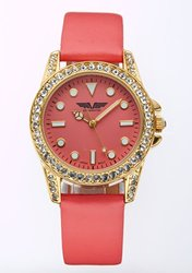 Depote Adria Ladies' Watch: Coral Band