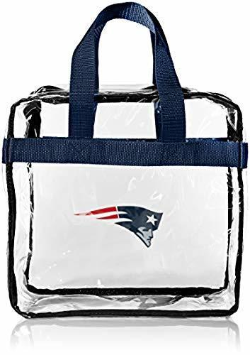 New England Patriots Clear Messenger Bag