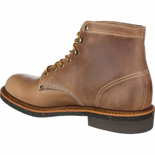 849250aa574 Thorogood Men's Beloit Plain Toe Work Boot - Natural - Size: 9 ...
