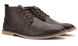 Gino Pheroni Men's Chukka Boots - Coffee