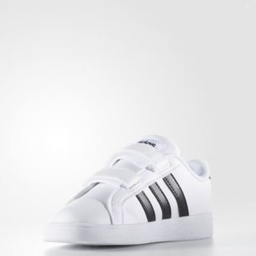 Adidas Baby Baseline CMF Sport Sneaker - White Black - Size  6.5 - Check  Back Soon - BLINQ 9542d9b11
