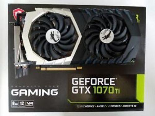 MSI GeForce GTX1070 Ti Titanium Gaming 8GB 256-Bit GDDR5 Graphics Card -  Check Back Soon