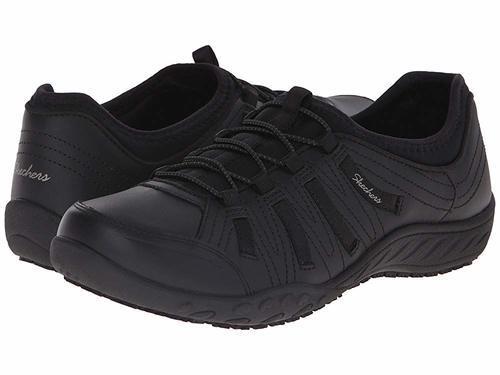 79bb20c49a6 Skechers Women s Rodessa Slip-Resistant Work Shoe - Black - Size ...