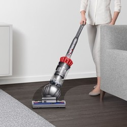 Dyson Slim Ball Upright Vacuum Cleaner Iron Red Check