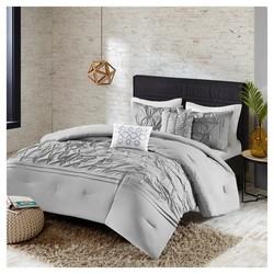 JLA Home 5-Pc Comfort Washed Comforter Set