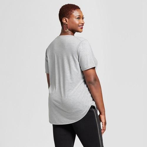 c554b66ce Grayson Threads Junior Women's Plus Size Graphic T-Shirt - Gray ...