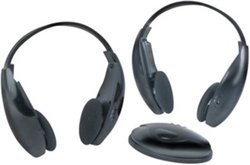 Boss 2 IR Headsets -  Black - for Car Use Only (HS-IR)