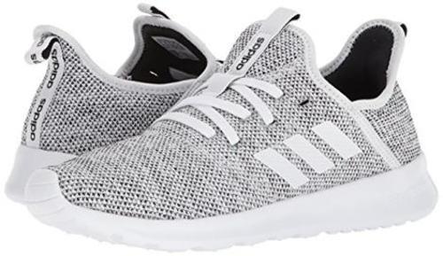 Adidas Women s Cloudfoam Pure Running Shoe - White Black - Size  ... 686dcd1d8