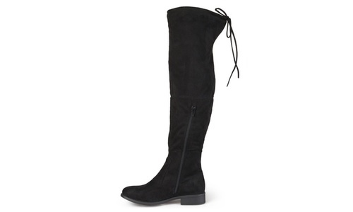 2b99e7087f7 Journee Collection Women s Mount Over-the-Knee Boot - Black - Size  ...