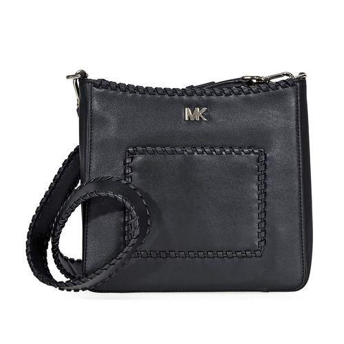 111c464109e4 Michael Kors Women's Whipstitched Leather Messenger Bag - Black - Check  Back Soon - BLINQ