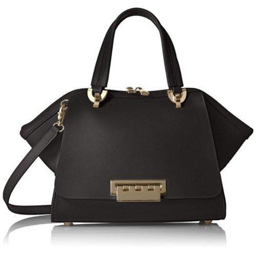 22e636553452 ... ZAC Zac Posen Women s Eartha Iconic Core Double Top Handle Bag - Black  ...