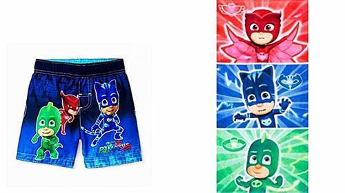 607bb40a03 Disney Toddler Boys' PJ Masks Swim Trunks - Blue - Size:2T - Check ...