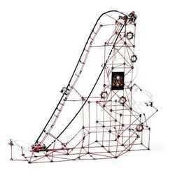 FAO Schwarz 753-Piece Build-A-Roller Coaster Building Set