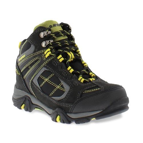 ad58fd646a3 Hi-Tec 'Altitude Lite I' Kid's Hiking Boot - Charcoal/Black/Sun - Size: 13