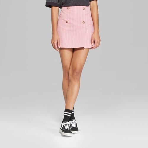 4838420e2 ... Size:XXL Wild Fable Women's Button Corduroy Mini Skirt - Rose ...