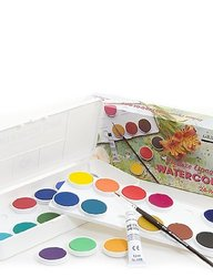 Grumbacher 12-Pack Transparent Watercolor Paint (WC012.SET)