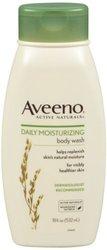 Aveeno Active Naturals Daily Moisturizing Body Wash - 18 Oz (J&J070128)