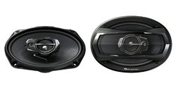 "Pioneer 6"" x 9"" 400 Watts 3-Way TS Series Coaxial Car Speakers (TS-A6965R)"