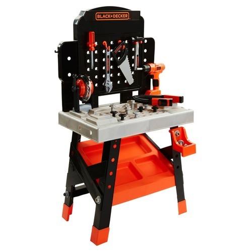 Sensational Black Decker Ready To Build Workshop Bench With 53 Tool Customarchery Wood Chair Design Ideas Customarcherynet