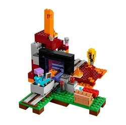 LEGO Minecraft Minifigure The Nether Portal Building