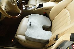 Bael Decor Lower Back Seat Cushion - Silver
