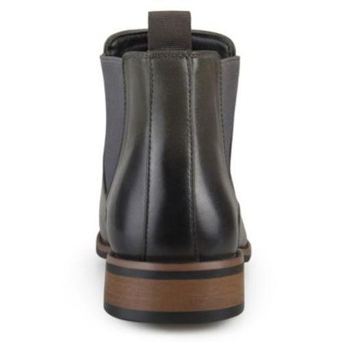 a08f3267f99 Vance Co Men s Landon Chelsea Boot - Gray - Size  8 - Check Back ...