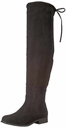 2e16efc8500 ... Journee Collection Women s Mount Over-the-Knee Boots - Black - Size 7.5  ...