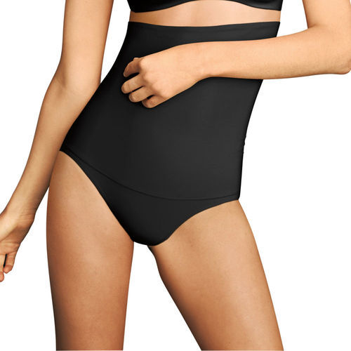565babbc38891 Flexees Women s Fat Control High Waist Shapewear - Black - Size 2XL ...