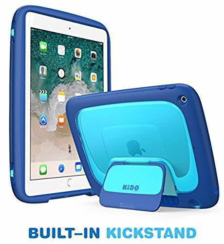 I-Blason Ipad 9 7 Protective Case For Kids Blue Cases Keyboards & Sleeves