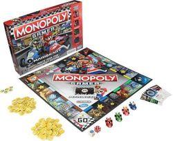 Monopoly Nintendo Mario Kart Property Dealing Board