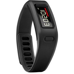Vivofit Fitness Band: Bundle W/ Heart Rate Monitor - Black