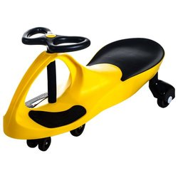 Lil Rider Wiggle Car: Yellow
