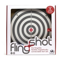 Marbles Throw and stick Fling Shot Board