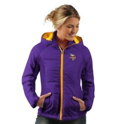 the latest 85002 dc6f9 G-Iii Sports Women's NFL Hooded Jacket - Minnesota Vikings - Size:2XL, -  Check Back Soon