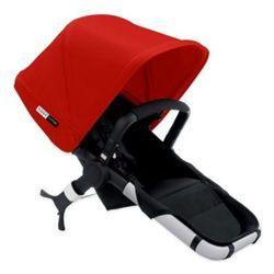 Bugaboo Smart Design Sun Canopy Runner Seat - Red/Black