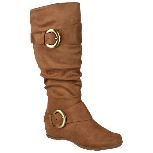 1e666d539b8 Journee Collection Women s Jester Wide Calf Boots - Camel - Size 7 ...