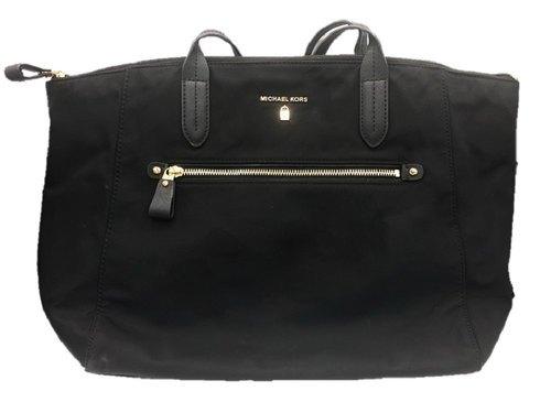 fa331c46d49f Michael Kors Women's Kelsey Top Zip Tote - Black - Size:Large ...
